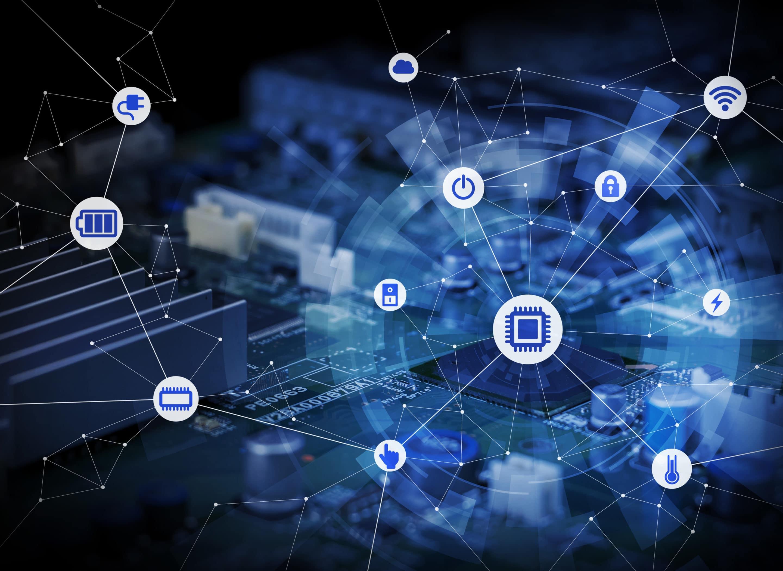 Blockchain Netzwerk verbunden