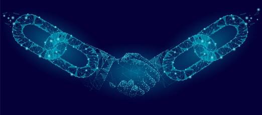 blockchain hände dapps
