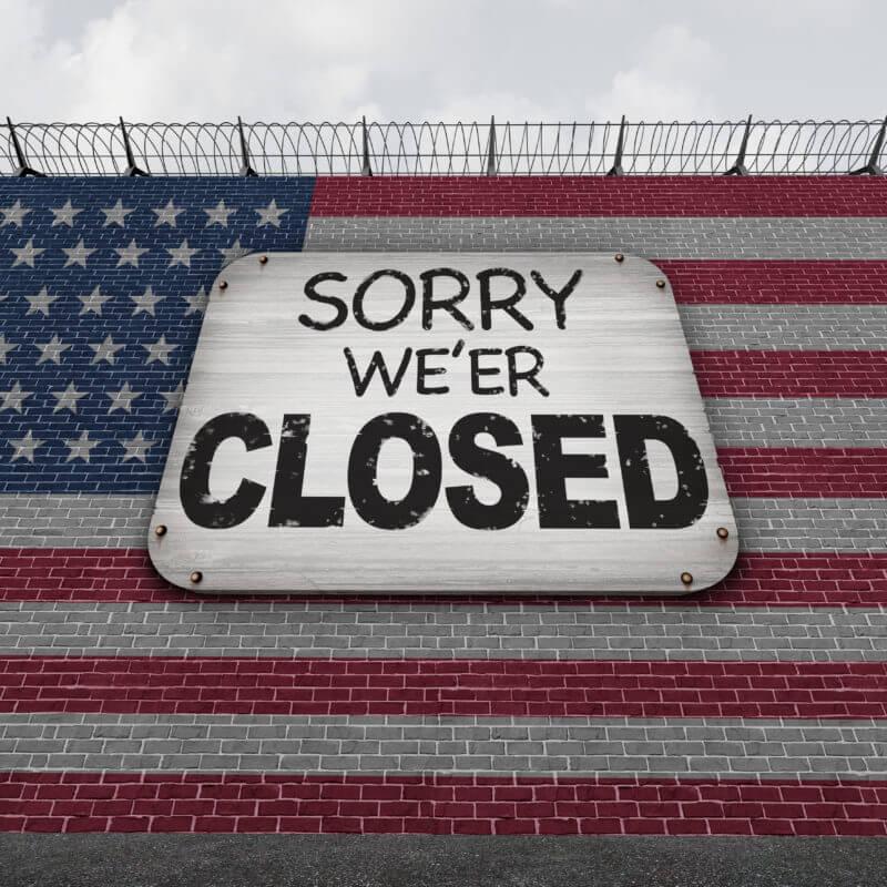 USA closed
