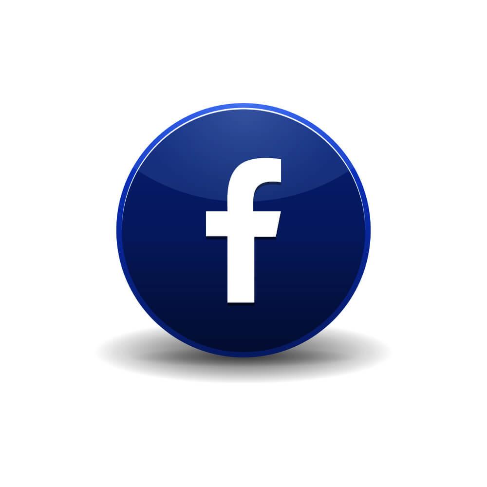 Facbook Logo rund