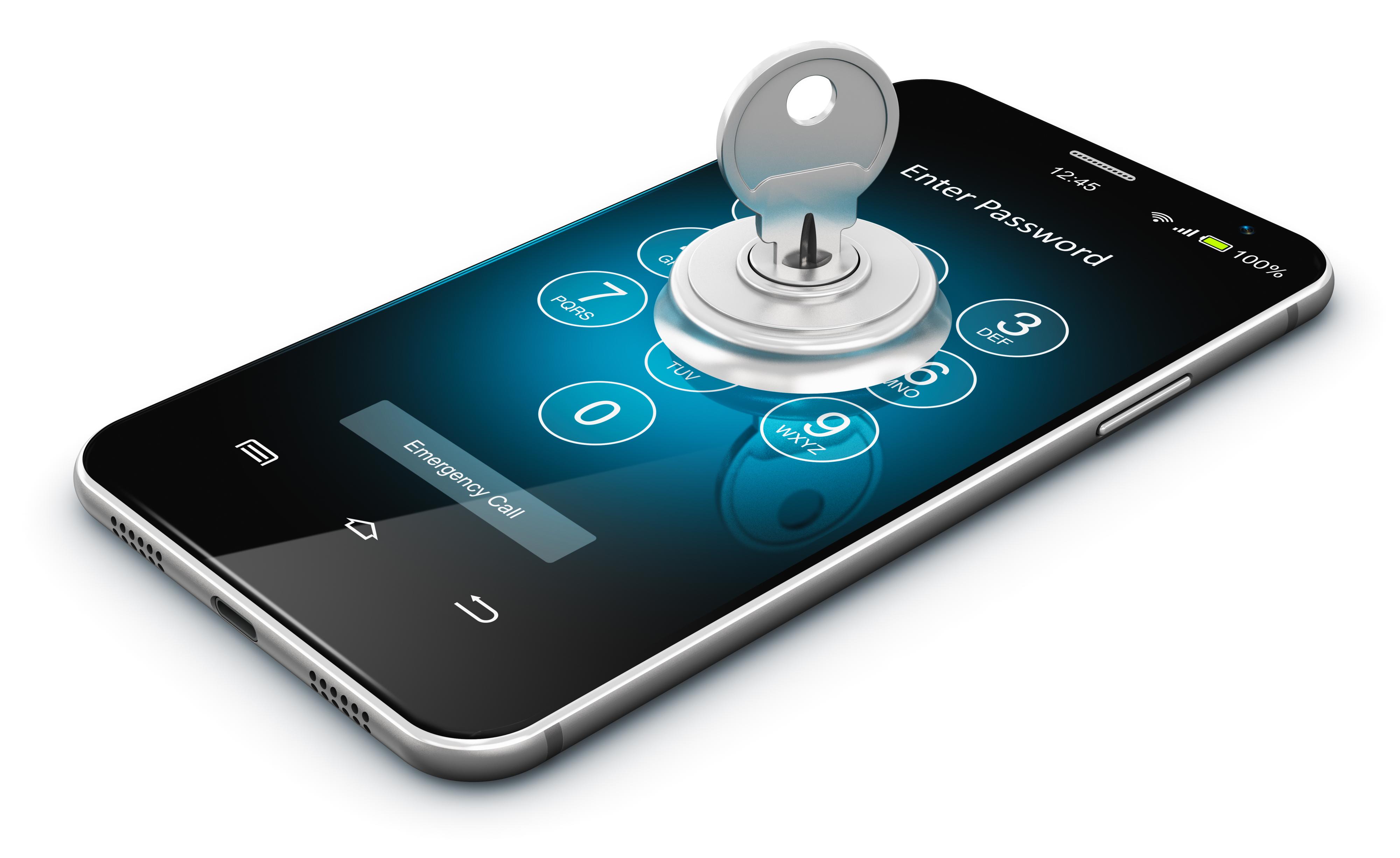 Krypto-Wallet auf Smartphone