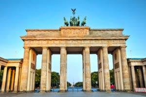 Brandenburger Tor Bundesregierung Blockchain
