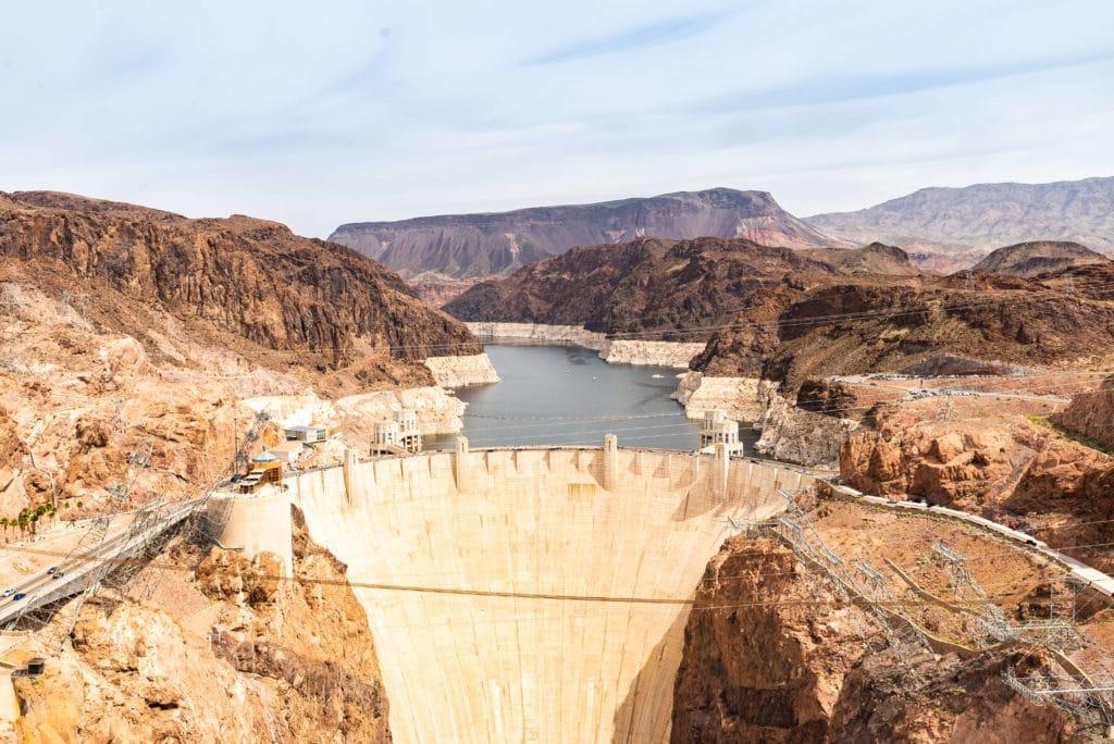 Wasserkraftwerk Stausee