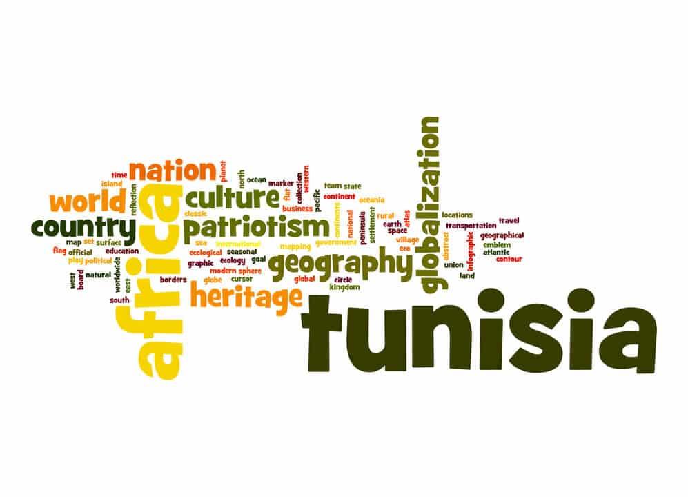 Digitales Geld in Tunesien - Tunesien Schriftzüge