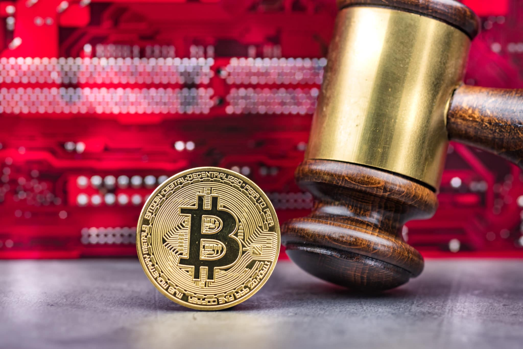 Kryptowährungen konfiszieren