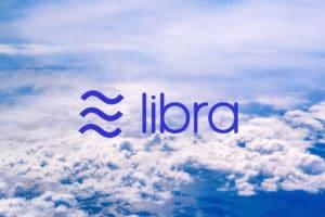 Libra Schriftzug Wolken - schweizer Präsident Libra gescheitert
