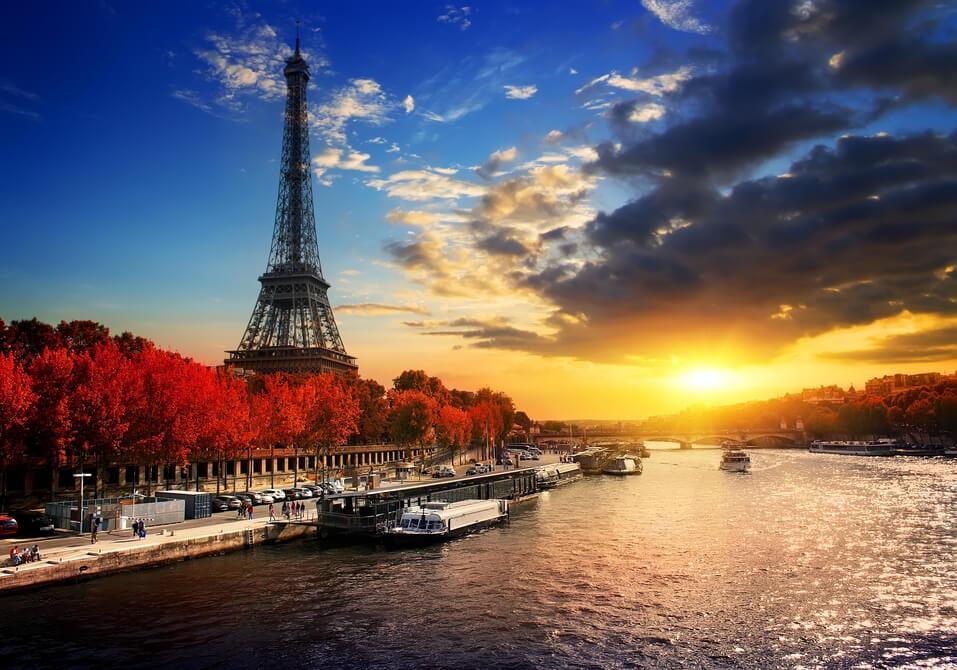 Skyline Frankreich Eiffelturm - staatliche Digitalwährung