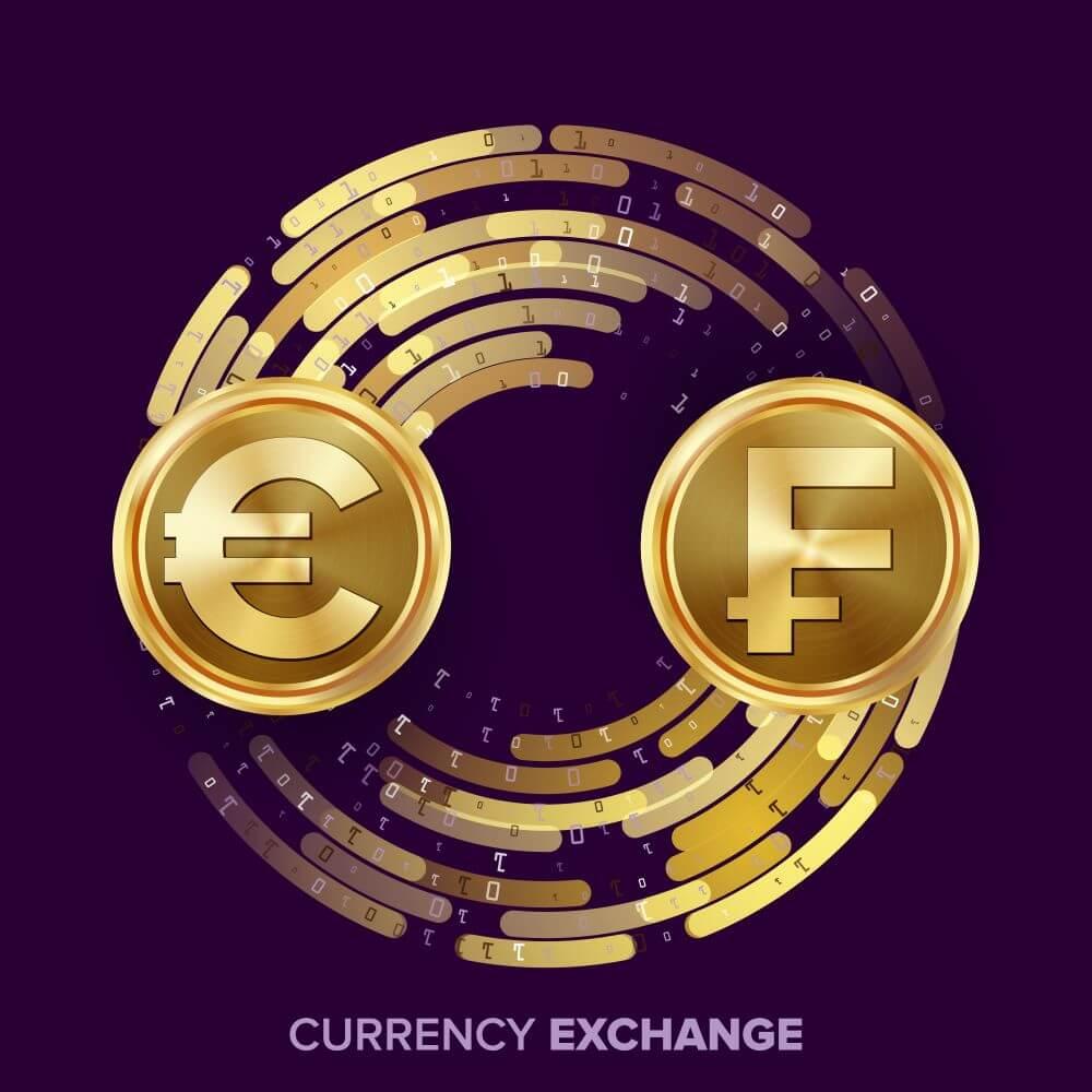 staatliche Digitalwährung - Euro und Frankreich Gold Coins