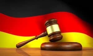 Holzhammer Deutschland Farben - Krypto Regulierung BaFin