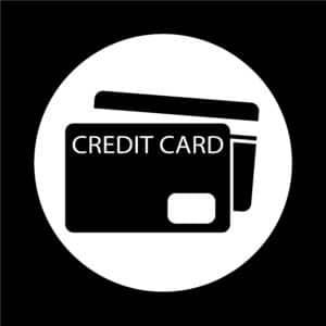 Credit Card Schwarz Weiß - Krypto Kreditkarte Crypto