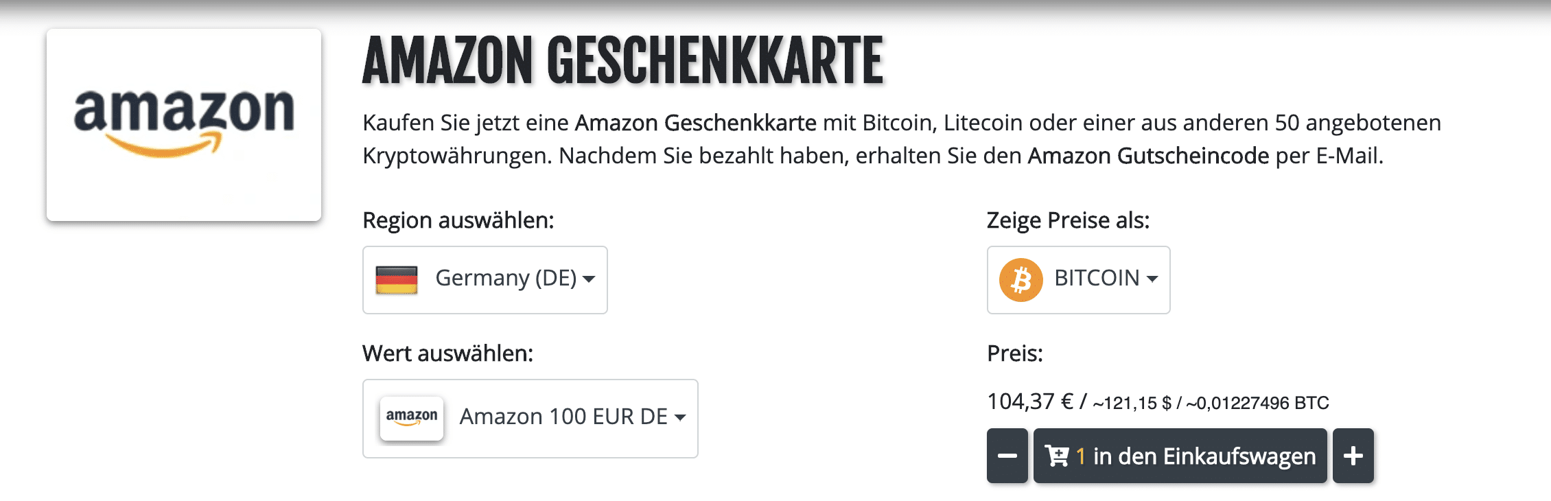 Coinsbee.com Wert