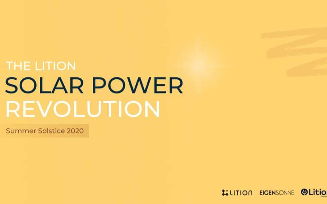 Strom verkaufen mit Lition (LIT) Energy | Live P2P-Marktplatz in Deutschland gestartet