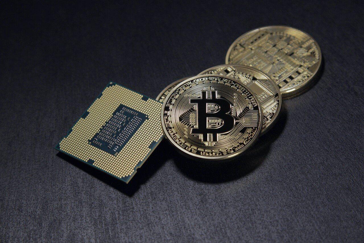 Bitcoin Gold Münze