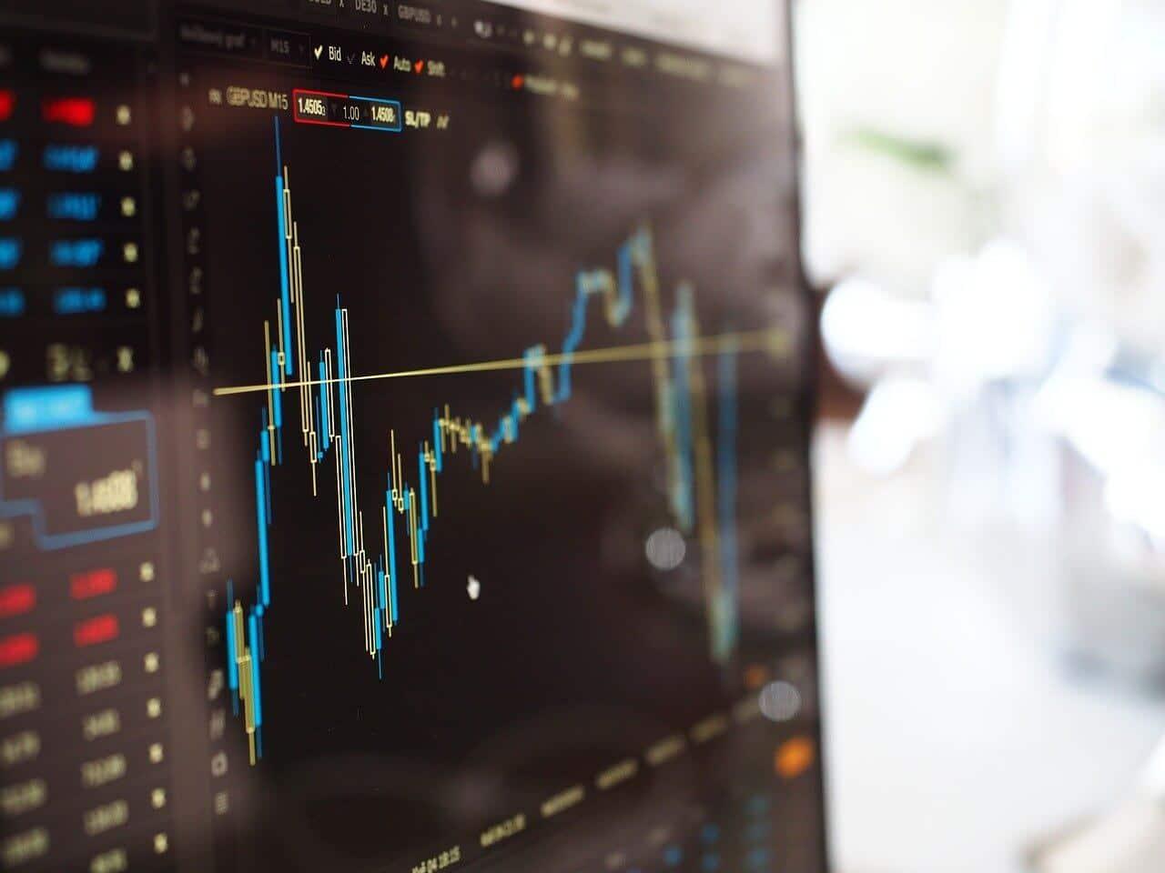 Bitcoin Run Trading Bild