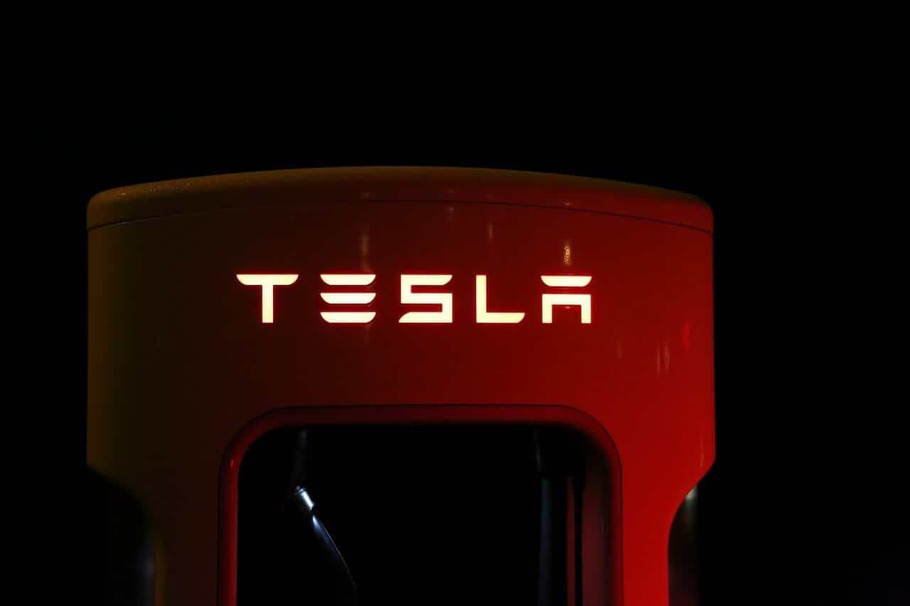 Tesla Logo Tesla CEO Elon Musk