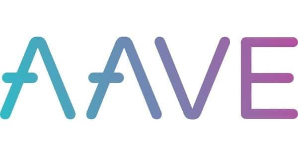 Aave Coin Krypto Lending Logo