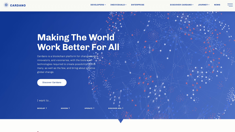 Cardano Webseite