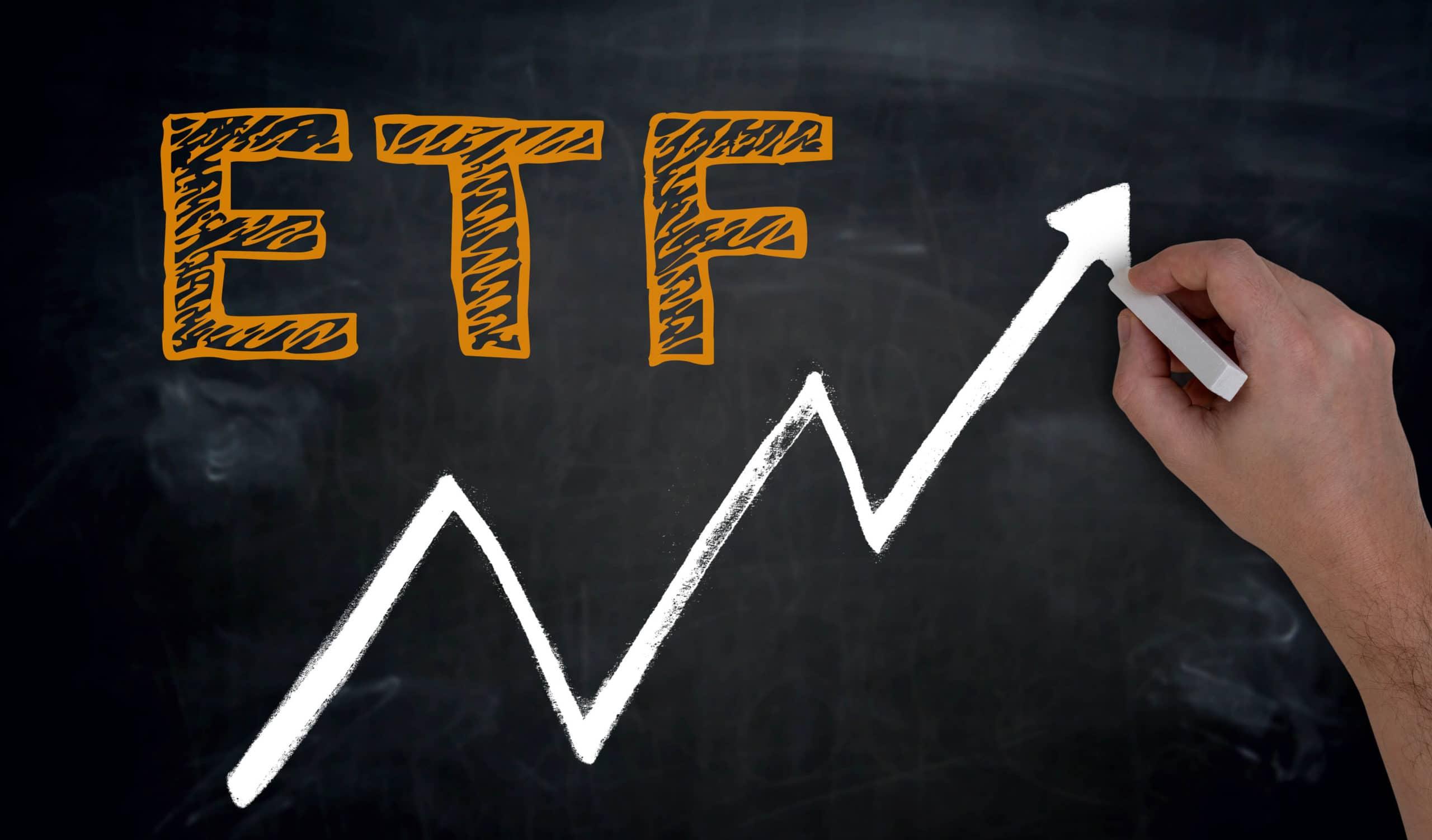 Bitcoin ETF Pfeil hoch