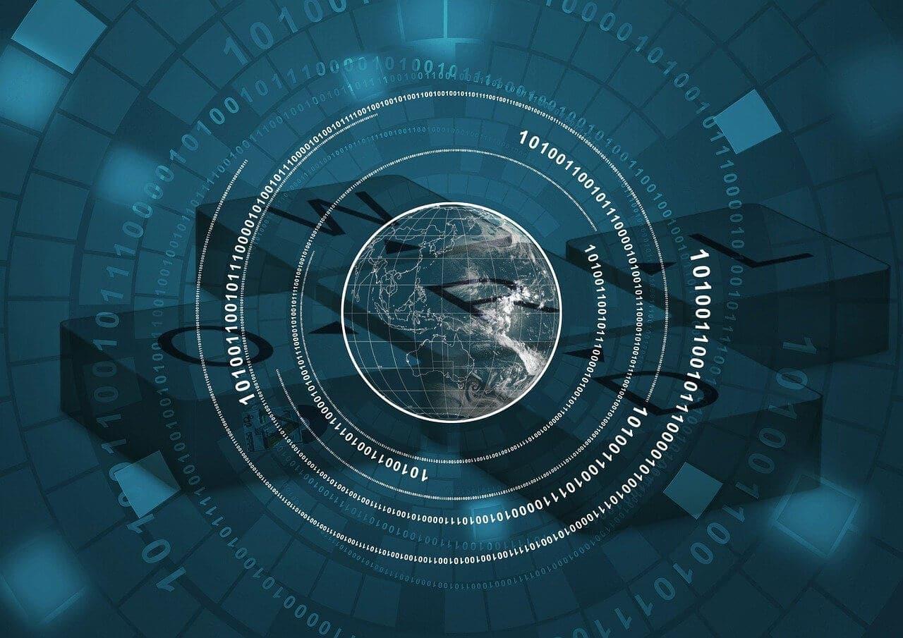 Digitale Erde China CBDC Blockchain