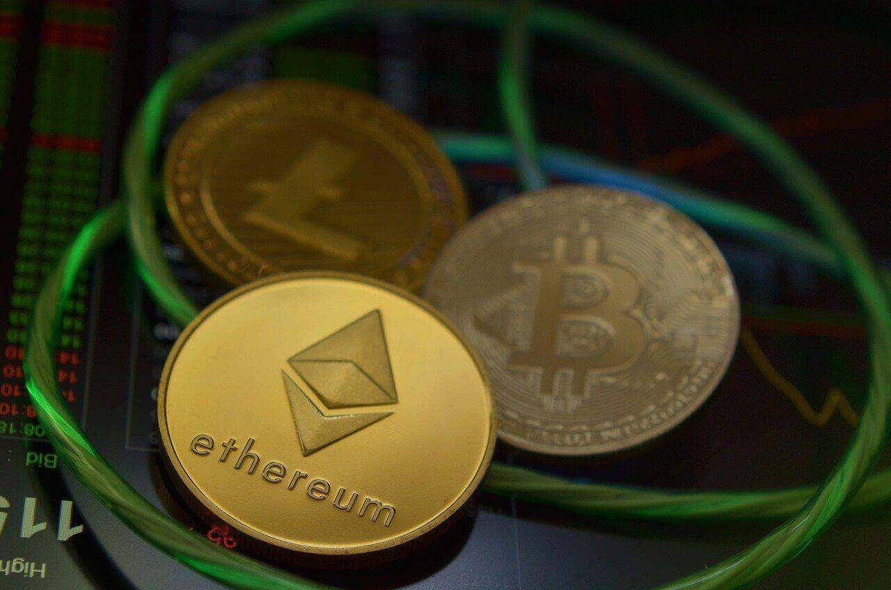 Ethereum könnte Bitcoin überholen Gold Münzen