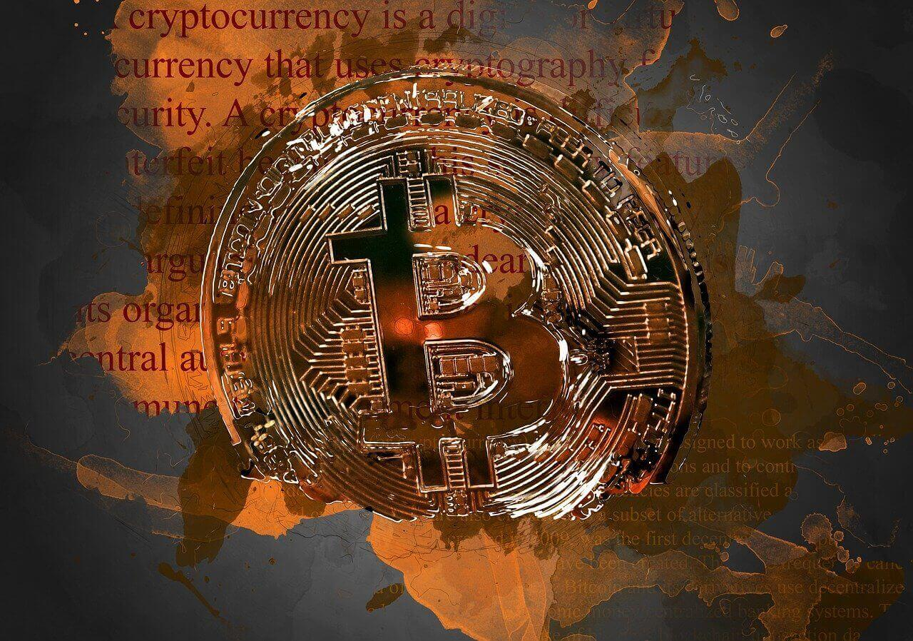 Bitcoin Investment Gold Münze