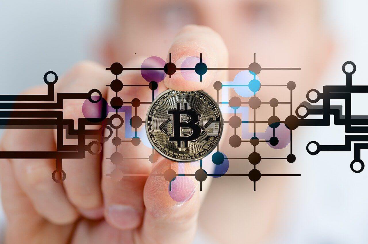 Bitcoin Vermögen Gold Münze
