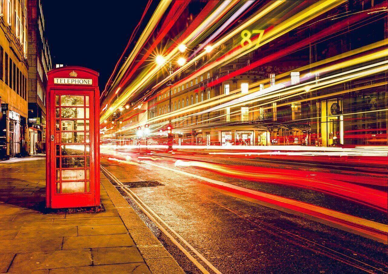 Krypto Handel London Telefonzelle