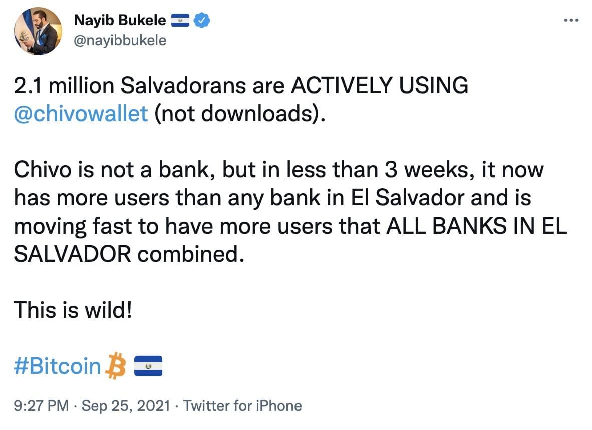 Präsident El Salvador Bitcoin